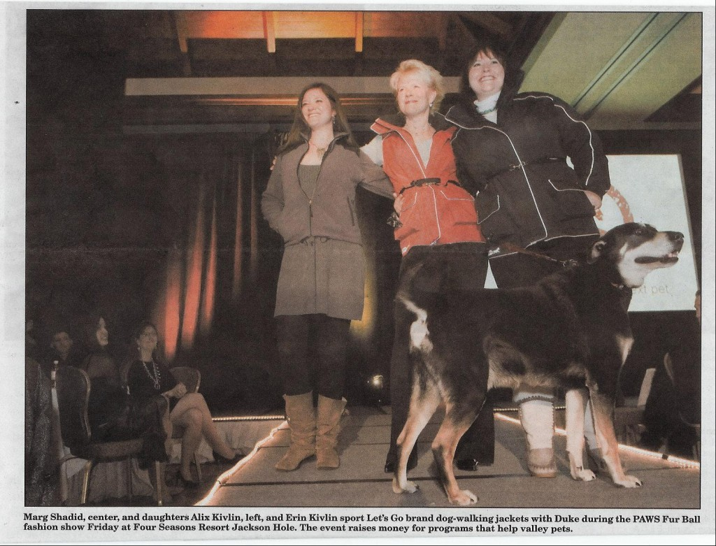 LGD Sponsors PAWS-JH Fur Ball: Jackson Hole News & Guide, March 11, 2009 Feature