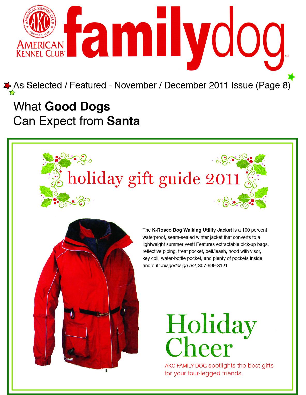 Magazine Family Dog Club Family Dog Magazine